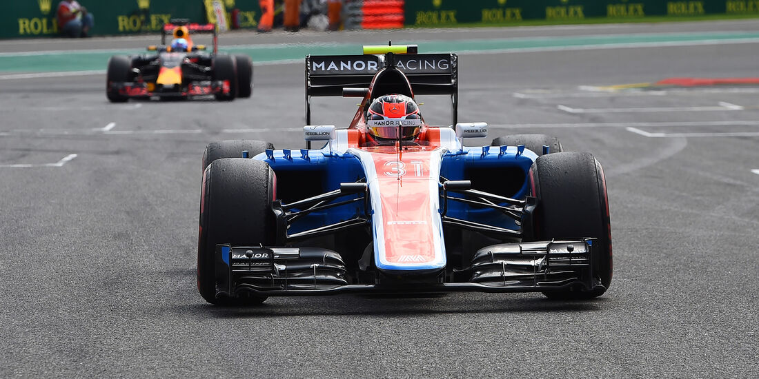 Esteban Ocon - Formel 1 - GP Belgien 2016