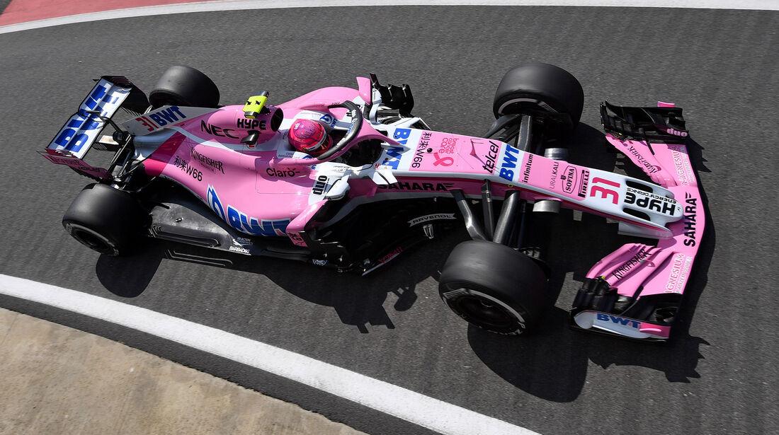 Esteban Ocon - GP England 2018