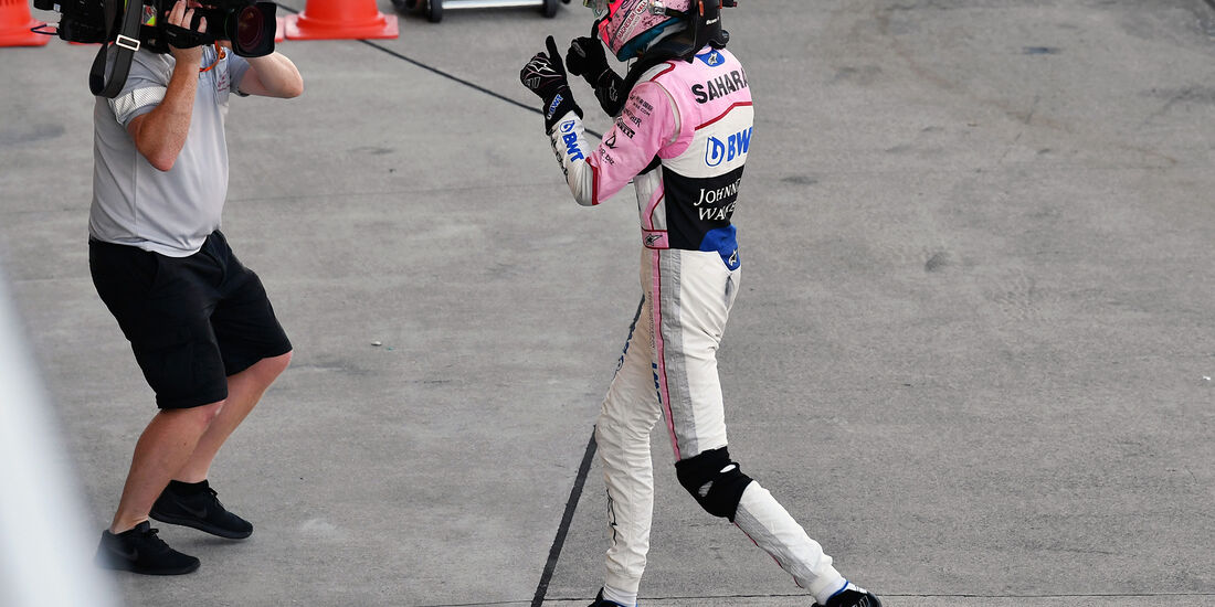 Esteban Ocon - GP Italien 2017