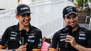 Esteban Ocon - Sergio Perez - Force India - F1