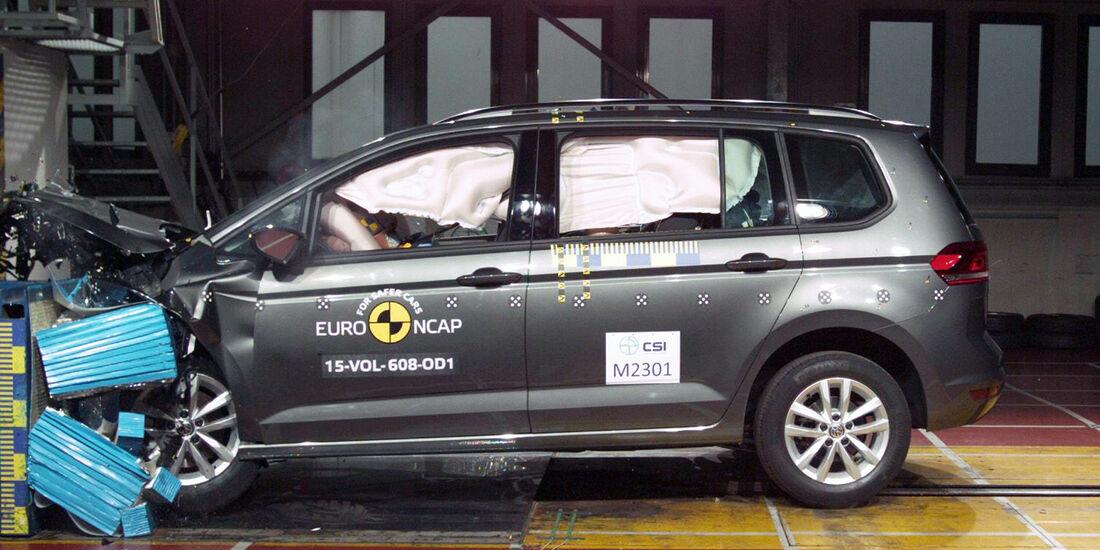 Euro NCAP - Crashtest VW Touran