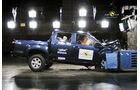 EuroNCAP-Crahtest Isuzu D-Max Frontal