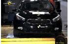 EuroNCAP-Crahtest Kia Cee'd Pole