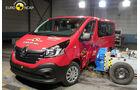 EuroNCAP-Crashtest 02/2015 Renault Trafic