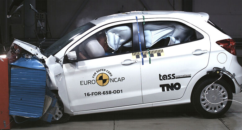 EuroNCAP Crashtest 2017 Ford Ka+