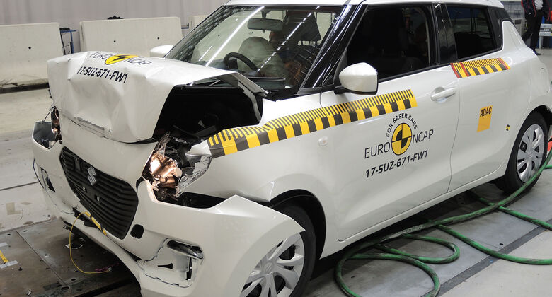 EuroNCAP-Crashtest 2017 Suzuki Swift