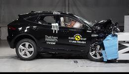 EuroNCAP Crashtest Jaguar E-Pace