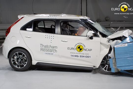 EuroNCAP-Crashtest MG3