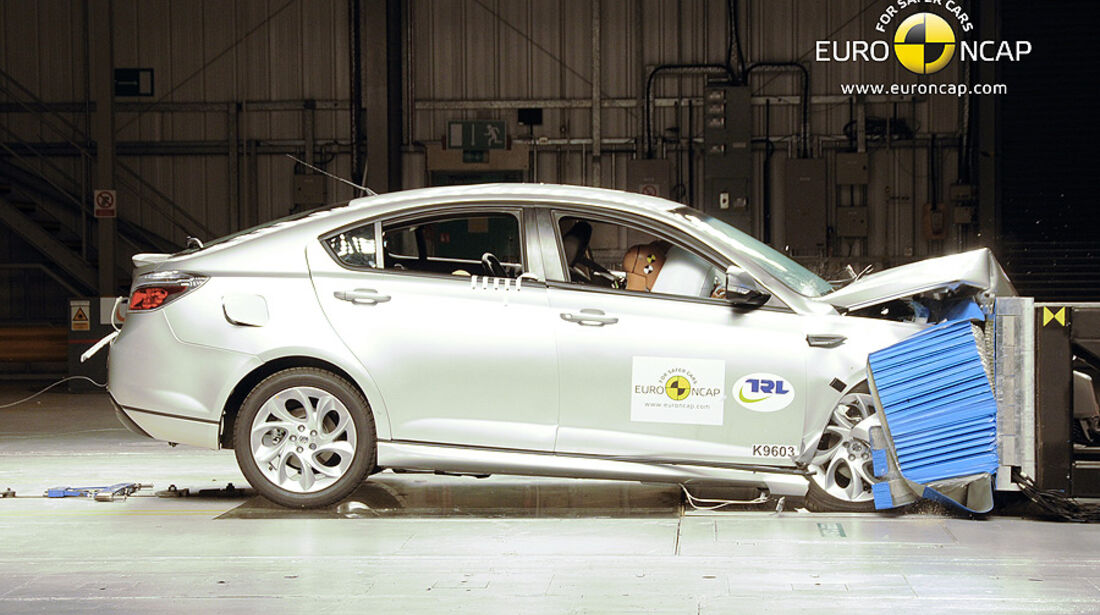 EuroNCAP-Crashtest MG6