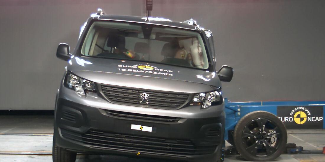 EuroNCAP Crashtest Peugeot Rifter