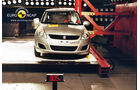EuroNCAP-Crashtest Suzuki Swift, Pfahl-Crashtest
