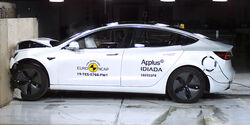 EuroNCAP-Crashtest Tesla Model 3