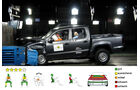 EuroNCAP-Crashtest, VW Amarok, Frontal-Crashtest