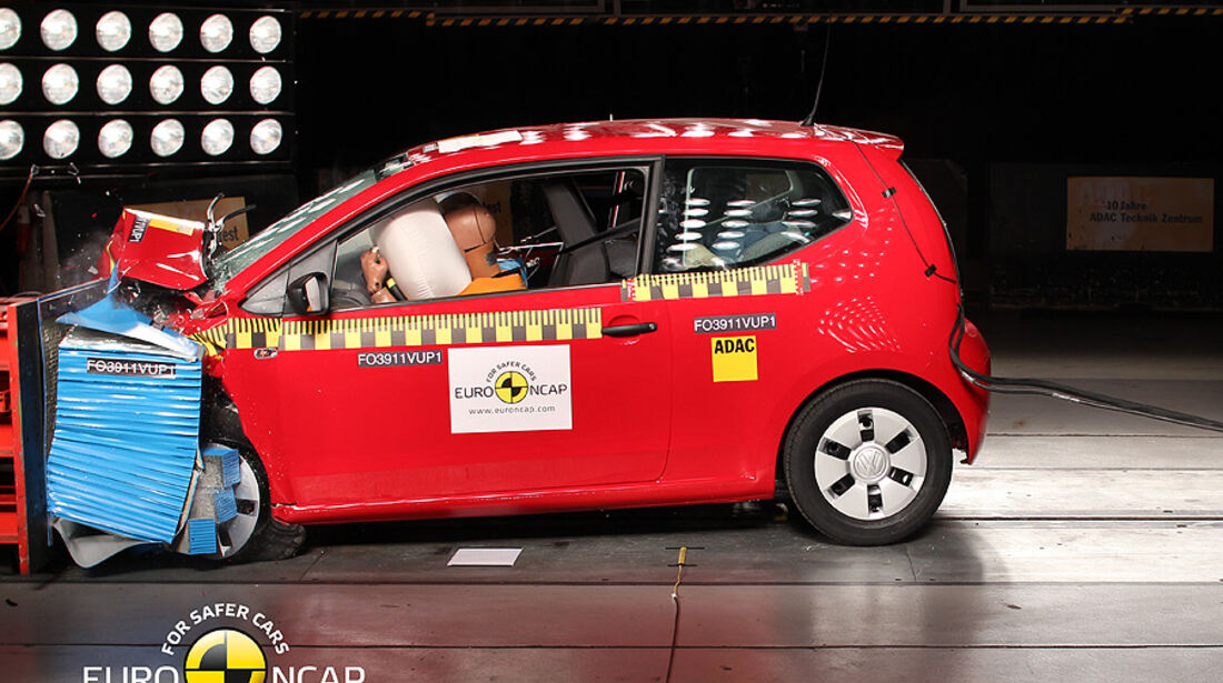 EuroNCAP-Crashtest VW Up