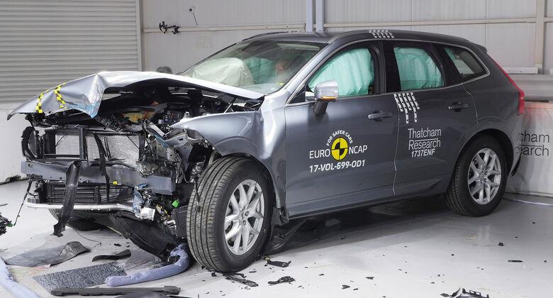 EuroNCAP-Crashtest Volvo XC61