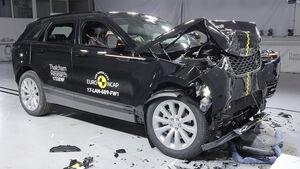 EuroNCAP Land Rover Range Rover Crashtest