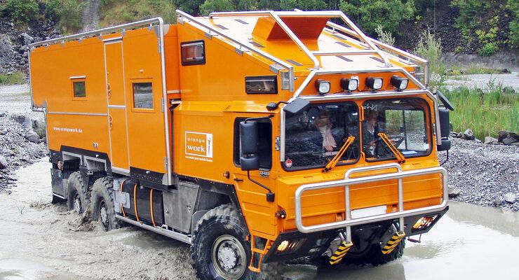 Orangework Expeditionsmobile: Reisen auf die extreme Art - AUTO MOTOR
