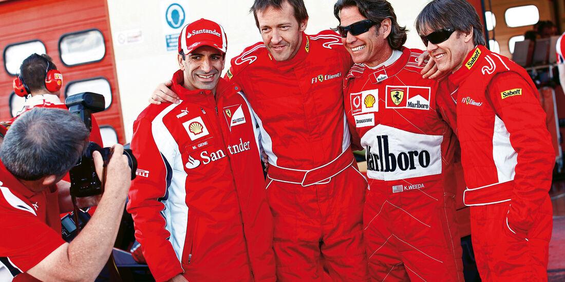 F1 Clienti, Adrián Fernández, Kevin Weeda, Marc Gene, Harold Primat