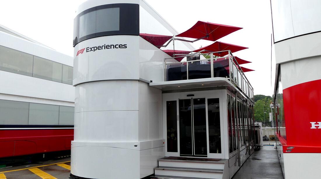 F1 Experience - F1-Motorhomes - GP Spanien 2018