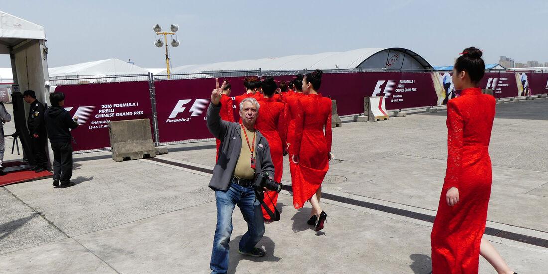 F1 - GP China 2016 - Tagebuch - Formel 1