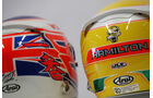 F1 Helme - Button & Hamilton 2012
