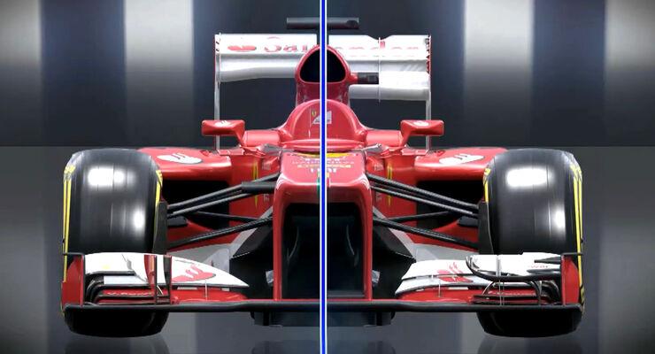 F1 Piola Technik - Ferrari Monza-Paket 2013