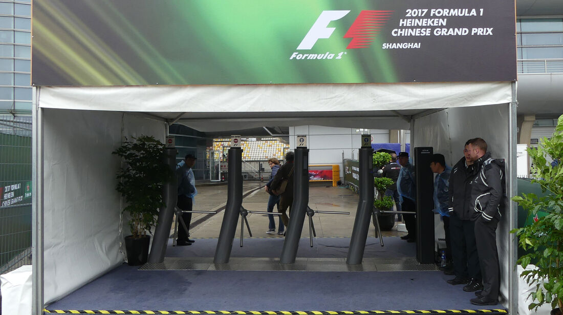 F1 Tagebuch - GP China 2017 - Shanghai
