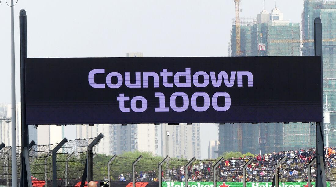 F1-Tagebuch - GP China 2018