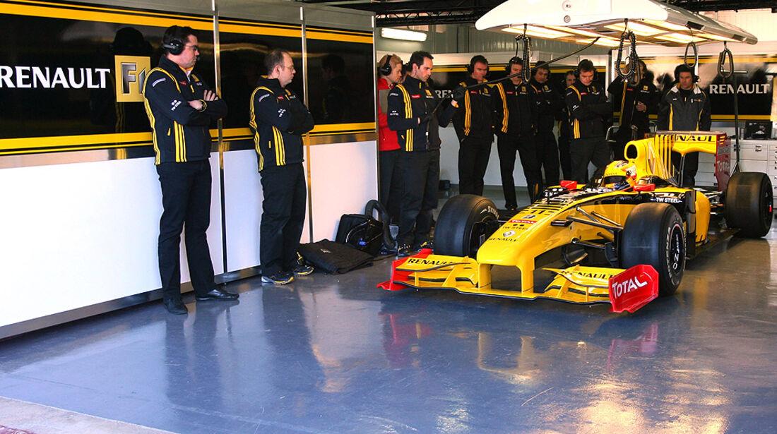 F1 Test Valencia Tag 1