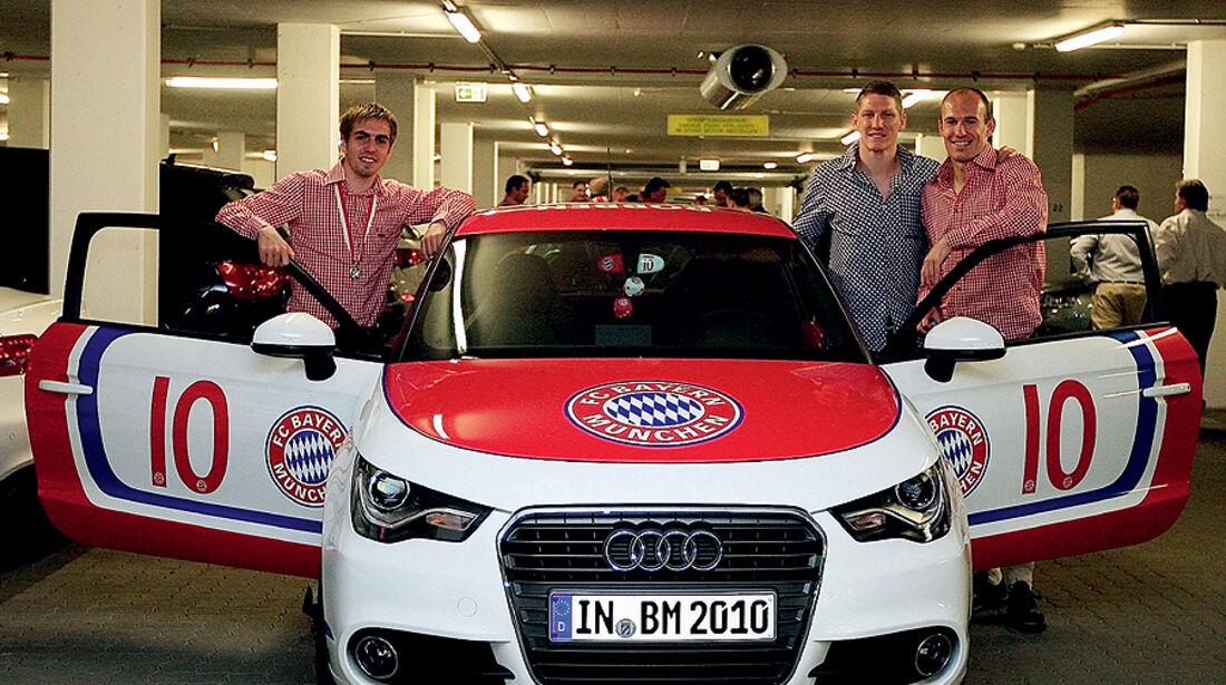 FC Bayern München Autokorso Audi A1