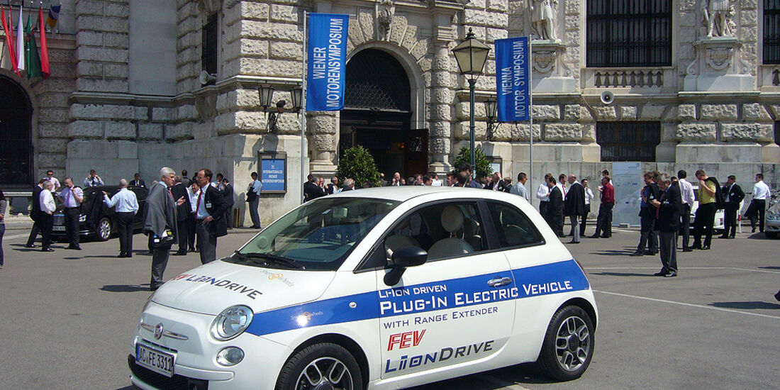FEV Liion, Elektroauto, Fiat 500 Electric