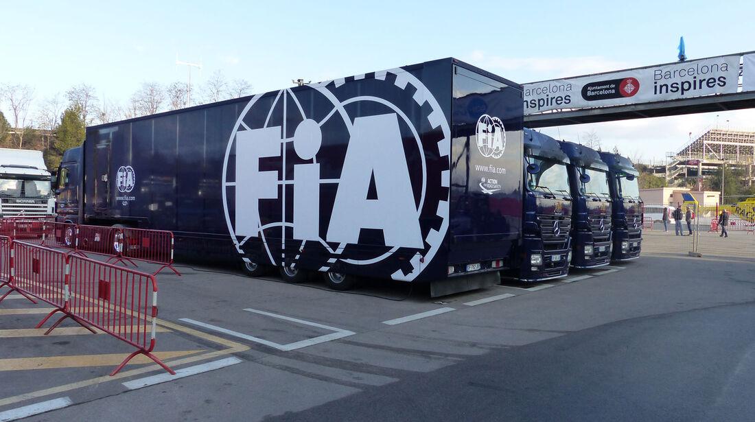 FIA - Formel 1-Test - Barcelona - 27. Februar 2015