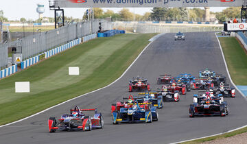 FIA Formula E - Donington Park - Simulation