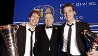 FIA Preisverleihung, Sebastian Vettel, Jean Todt, Sebastien Loeb