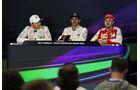FIA-Pressekonferenz - Formel 1 - GP Australien 2015