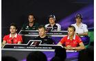 FIA Pressekonferenz - Formel 1 - GP Malaysia - 21. März 2013