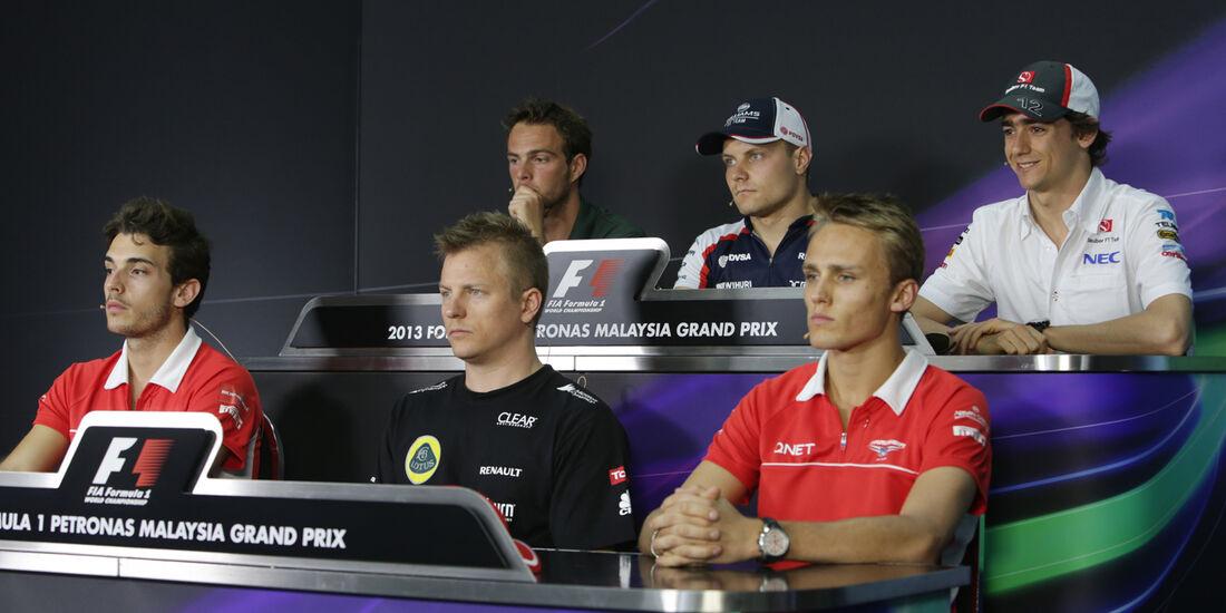 FIA-Pressekonferenz - Formel 1 - GP Malaysia - 22. März 2013