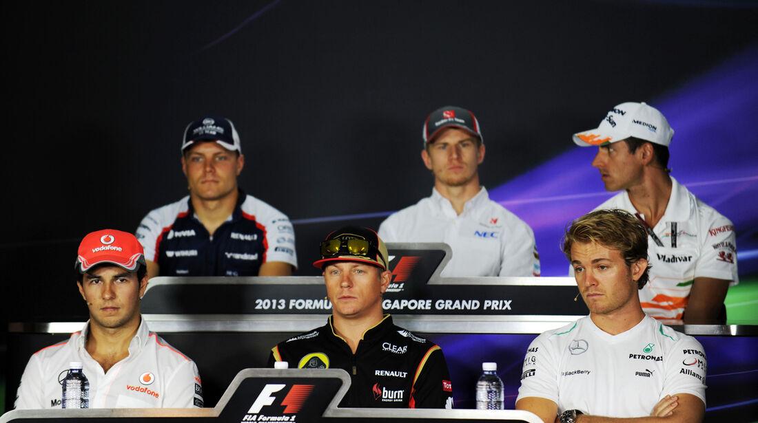 FIA-Pressekonferenz - Formel 1 - GP Singapur - 19. September 2013