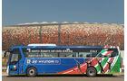 FIFA, Fussball WM, 2010, Busse, Hyundai, Italien