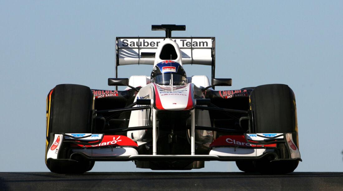 Fabio Leimer Young Driver Test Abu Dhabi 2011