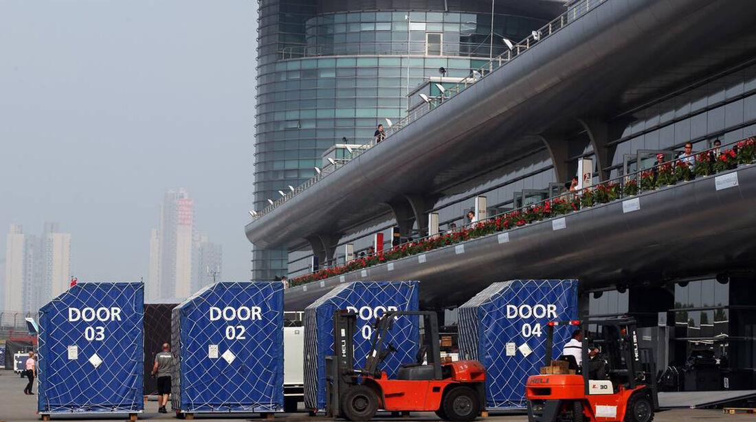 Fahrerlager - Formel 1 - GP China - 14. April 2013