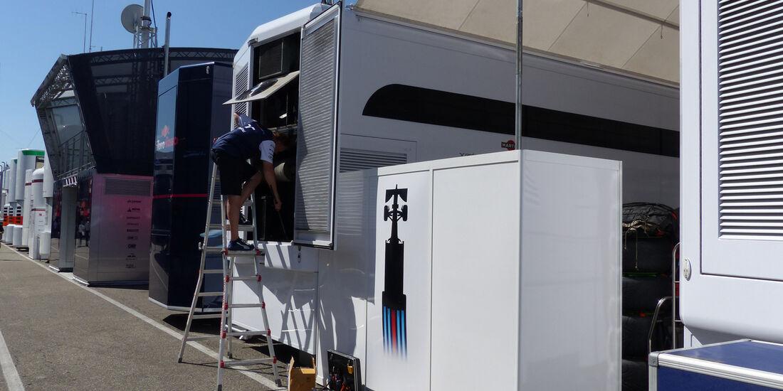 Fahrerlager - Formel 1 - GP Deutschland - Hockenheim - 17. Juli 2014