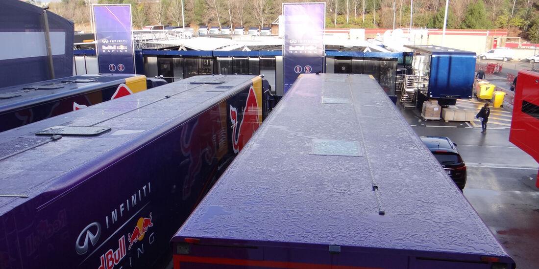 Fahrerlager - Formel 1 - Test - Barcelona - 28. Februar 2013