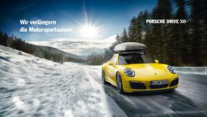 Fahrerlebnis im Porsche 911