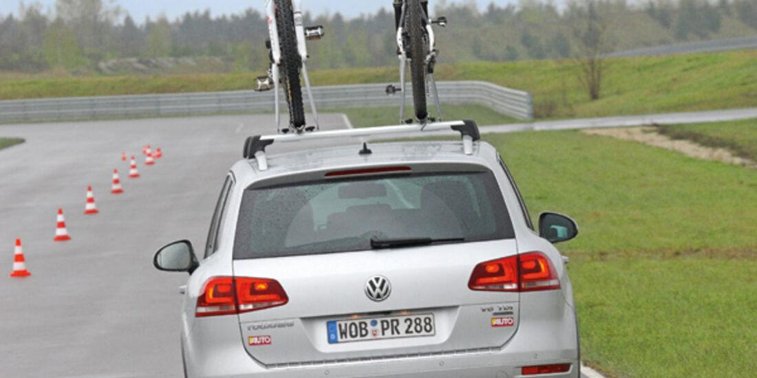Fahrradträger, Testwagen, Zweiter, Dachträger
