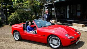 Familie Hosobuchi mit BMW
