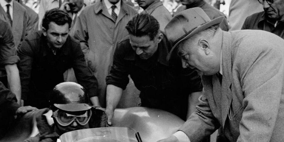 Fangio GP Frankreich 1954