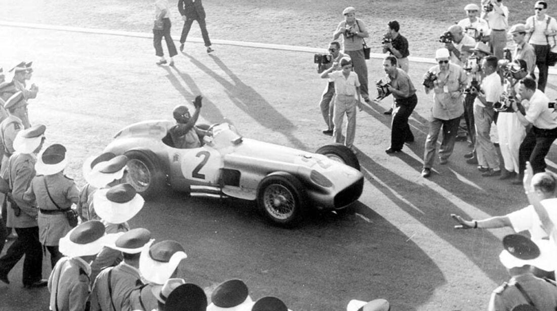 Fangio Le Mans Mercedes W196