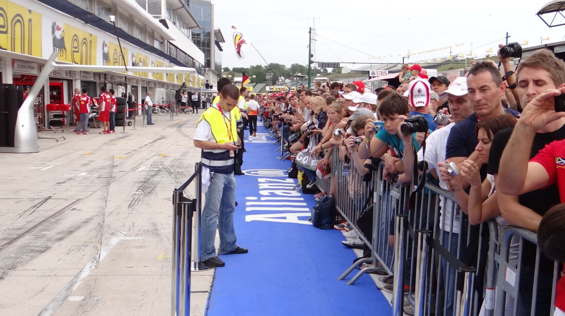 Fans - Formel 1 - Budapest - GP Ungarn - 26. Juli 2012