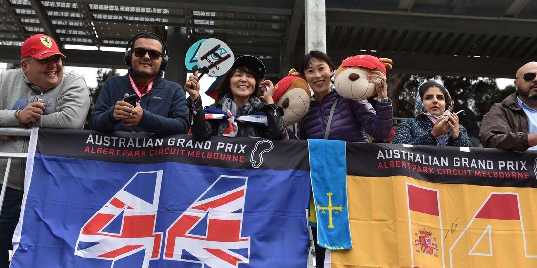 Fans - Formel 1 - GP Aserbaidschan - 29. April 2018
